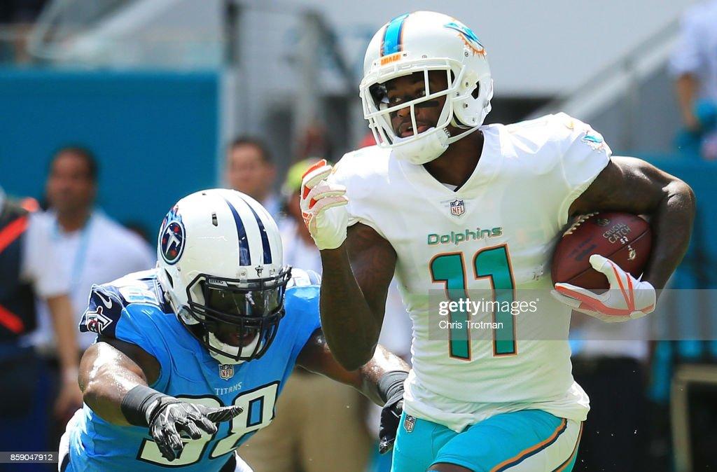 Tennessee Titans vMiami Dolphin : News Photo
