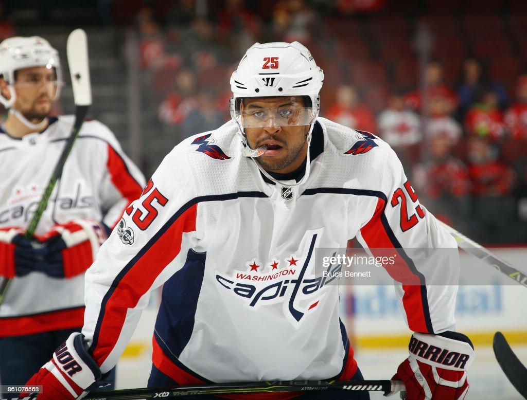 Washington Capitals v New Jersey Devils : News Photo