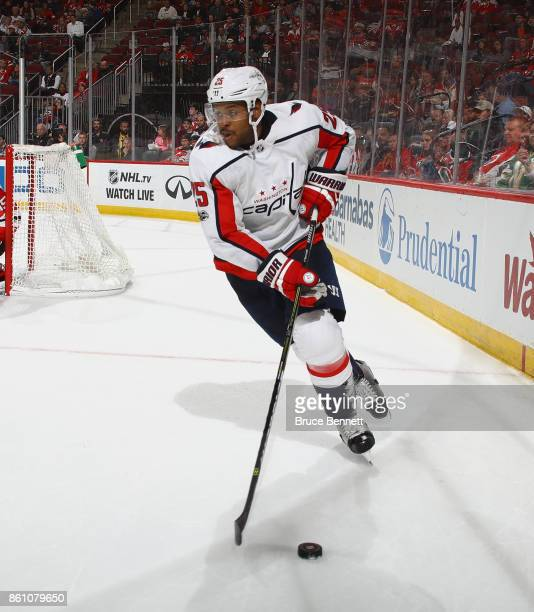 Devante SmithPelly of the Washington Capitals skates against the New Jersey  Devils at the Prudential Center cdf3fe0e8b03