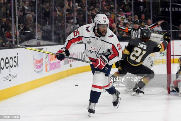 Devante SmithPelly of the Washington Capitals skates against the Vegas Golden Knights during the second period in Game Five of the 2018 NHL Stanley...