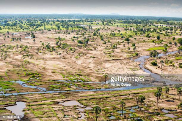 devastating flooding in the shire valley, malawi, africa. - natural disaster stock pictures, royalty-free photos & images