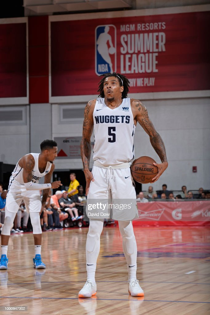 wholesale dealer 2400e 750a1 DeVaughn Akoon Purcell of the Denver Nuggets shoots the ball ...