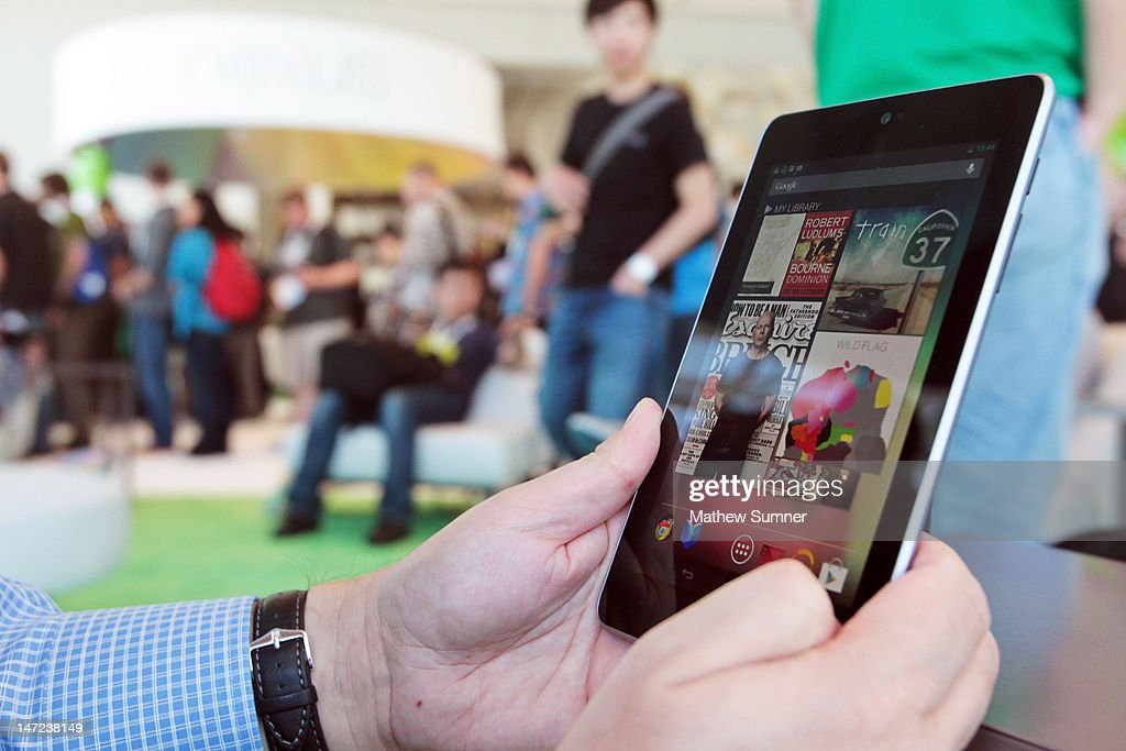 Google Announces Nexus Tablet At Its Developers Conference I/O : News Photo
