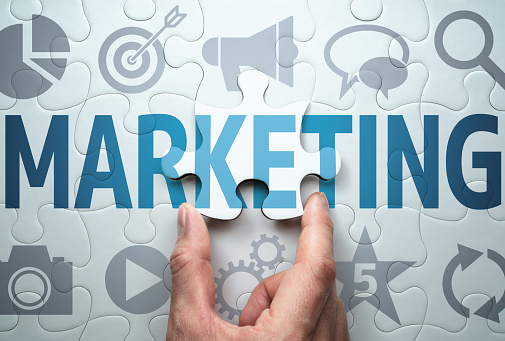 Developing marketing strategy. Development of effective solution. 1142528992
