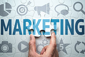Developing marketing strategy. Development of effective solution.