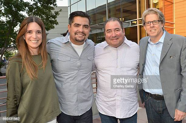 Development and Programming Executive at Amazon Studios Tracey Lentz chefs Aaron Sanchez Emeril Lagasse and Conrad Riggs Head of Unscripted at Amazon...