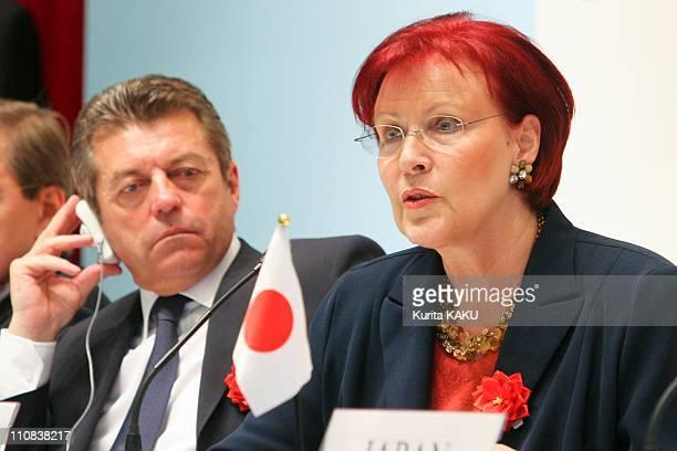Development Ministers' Meeting In Tokyo Japan On April 05 2008 G8 Development Ministers' meeting press conference in Tokyo April 6 2008 Germany's...
