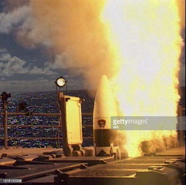 Developmental Standard Missile-3 , designed to intercept short to medium-ranged ballistic missile threats, is launched from the Pearl Harbor-based...