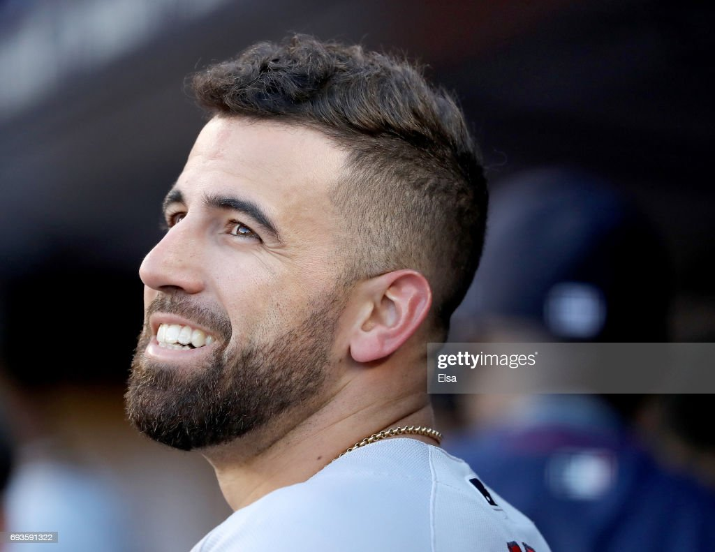 Deven Marrero #17 of the Boston Red Sox looks on from the dugout before the game against the New York Yankees on June 7, 2017 at Yankee Stadium in the Bronx borough of New York City.