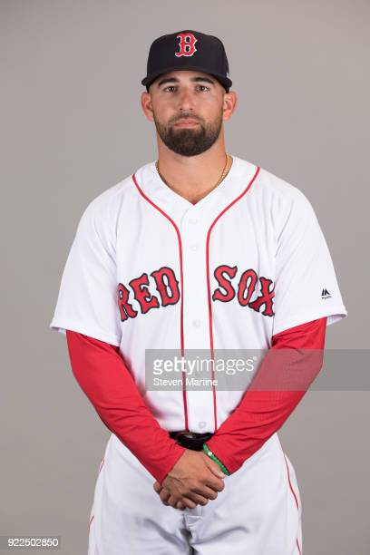 Deven Marrero of the Boston Red Sox poses during Photo Day on Tuesday February 20 2018 at JetBlue Park in Fort Myers Florida
