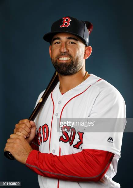 Deven Marrero of the Boston Red Sox poses for a portrait during the Boston Red Sox photo day on February 20 2018 at JetBlue Park in Ft Myers Florida