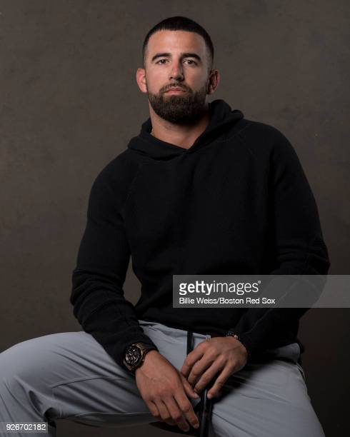 Deven Marrero of the Boston Red Sox poses for a portrait on March 2 2018 at Fenway South in Fort Myers Florida