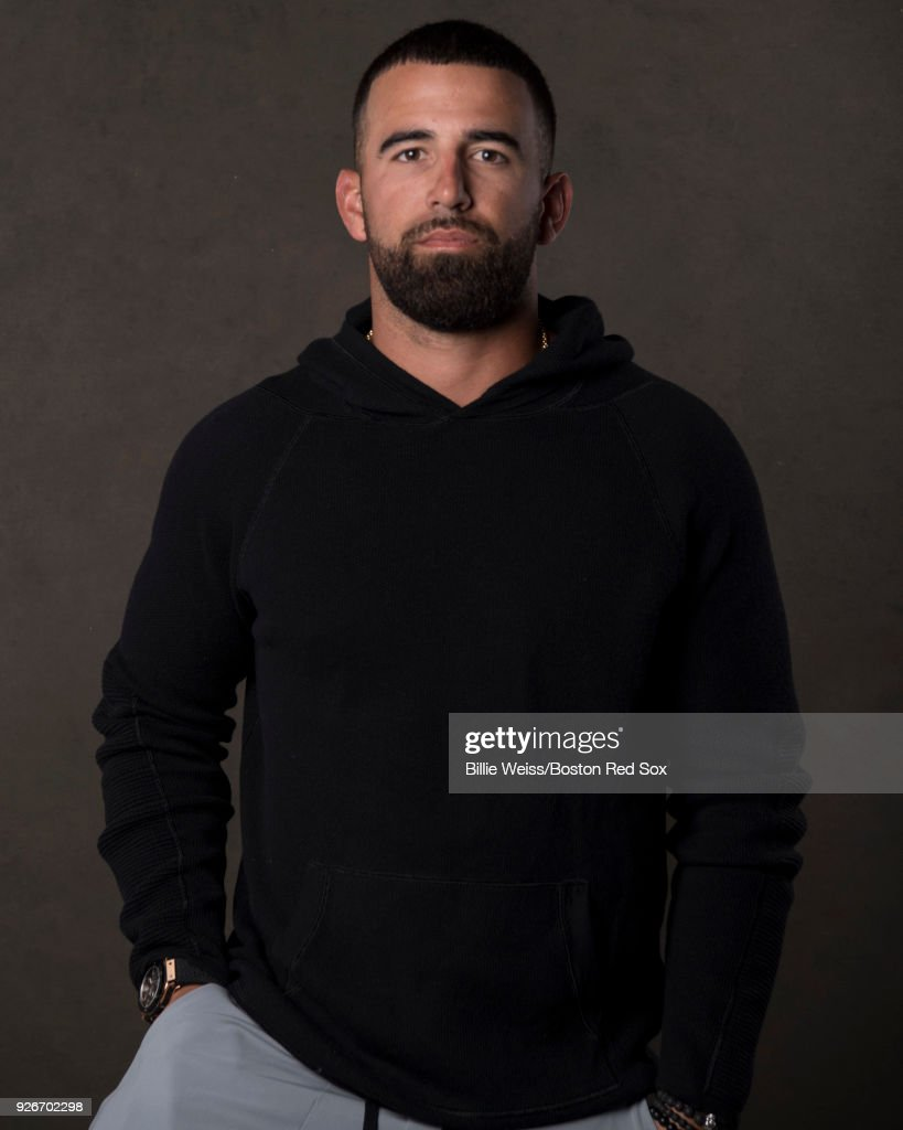 Deven Marrero #17 of the Boston Red Sox poses for a portrait on March 2, 2018 at Fenway South in Fort Myers, Florida .