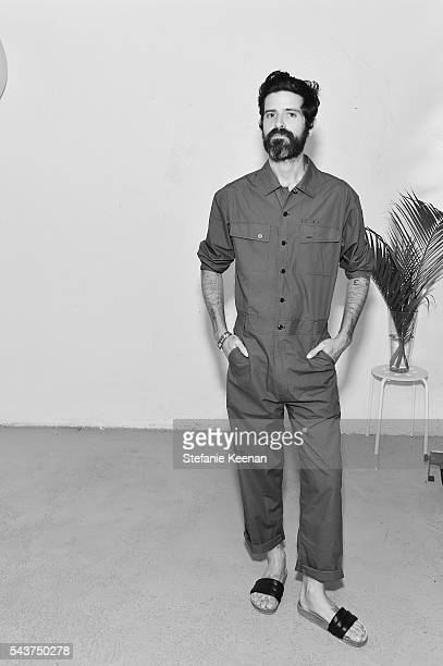 Devendra Banhart attends Fete Harriett A Fundraiser Benefiting The Harriett Buhai Center For Family Law at Austere on June 29 2016 in Los Angeles...