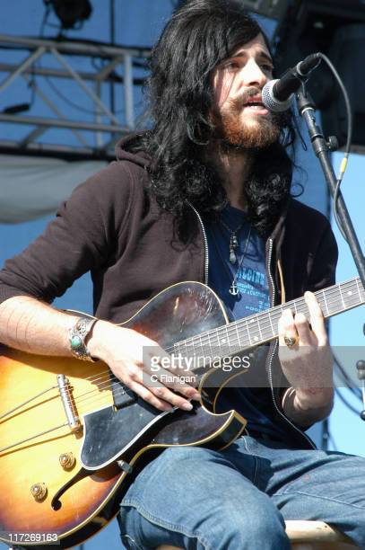 Devendra Banhart during Vegoose Music Festival 2005 Day 1 Devendra Banhart at Sam Boyd Stadium in Las Vegas Nevada United States