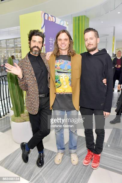 Devendra Banhart Nikolai Haas and guest attend Barneys New York Celebrates Haas for the Holidays Hosted by Matthew Mazzucca Nikolai Haas and Simon...