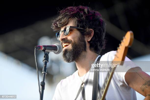 Devendra Banhart performs at the Outdoor Theatre during day 3 of the Coachella Valley Music And Arts Festival at the Empire Polo Club on April 23...