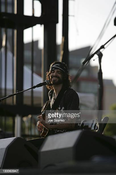 Devendra Banhart performs on day 1 of the 2009 San Diego Street Scene Music Festival on August 28 2009 in San Diego California