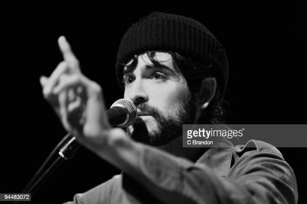 Devendra Banhart performs on stage at Shepherds Bush Empire on December 15 2009 in London England