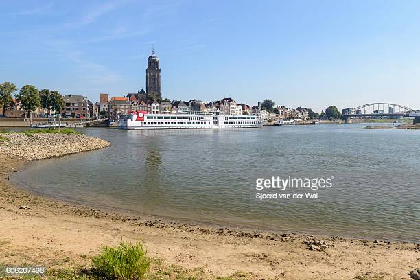"deventer city at the river ijssel in the netherlands - ""sjoerd van der wal"" stock-fotos und bilder"