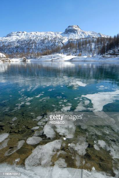 Devero lake Alpe Devero Ossola Valley Verbania province Piedmont Italy