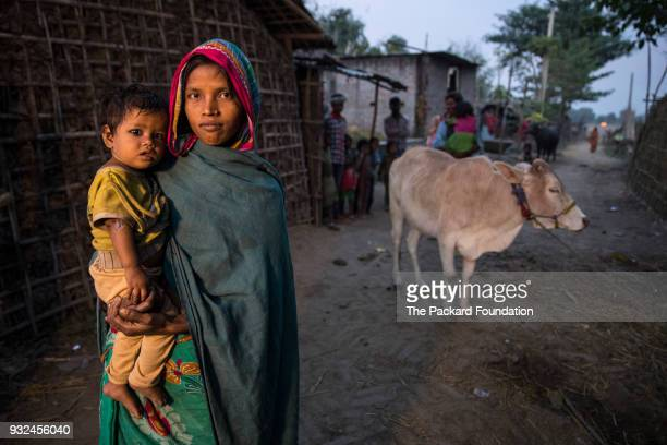 Devi and her son live in a rural community where Accredited Social Health Activists supported by Pathfinder International make home visits to provide...