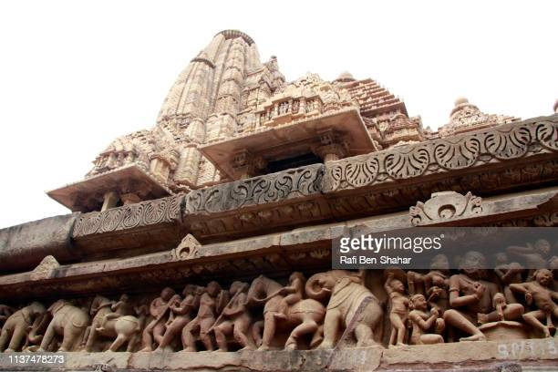 devi jagadambika temple or jagadambika temple  in khajuraho, - {{asset.href}} stock pictures, royalty-free photos & images