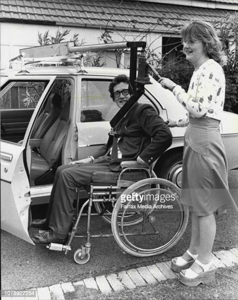 Device called the 'Flocan' which is a car top invalid lifter used for conveying paraplegic auid quadraplegics from the passenger seat of cars to...