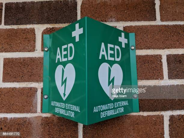 AED device in sports ground