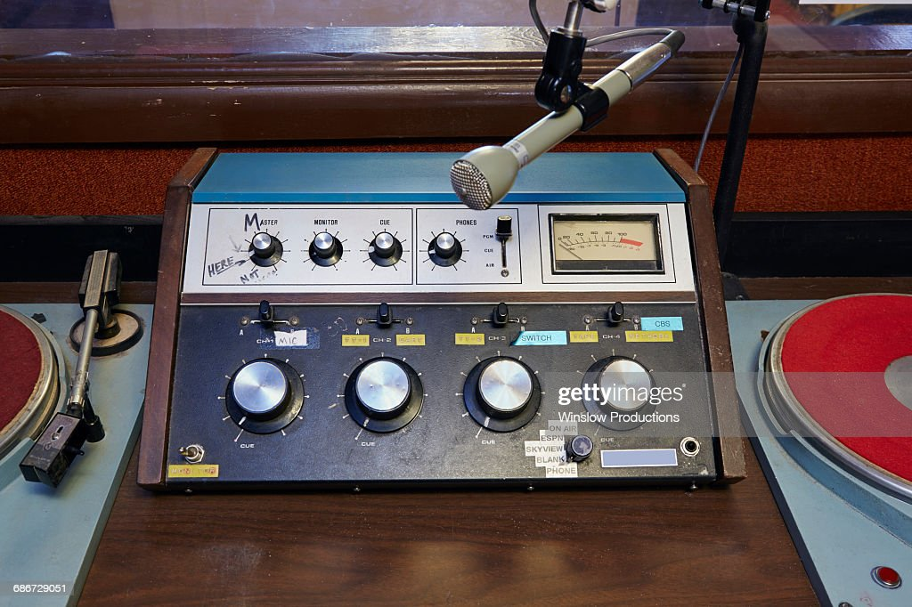 Devices for broadcasters : Stock Photo