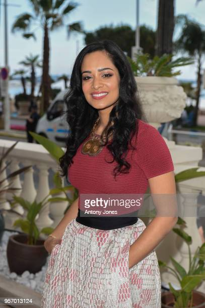 Devika Bhise attends an exclusive Cannes launch celebration of 'Swords Sceptres' at The Carlton on May 10 2018 in Cannes France