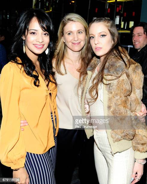Devika Bhise Tristen Skyler and Eleanor Lambert attend The Cinema Society BNY Mellon host the after party for Sony Pictures Classics' 'Paris Can...