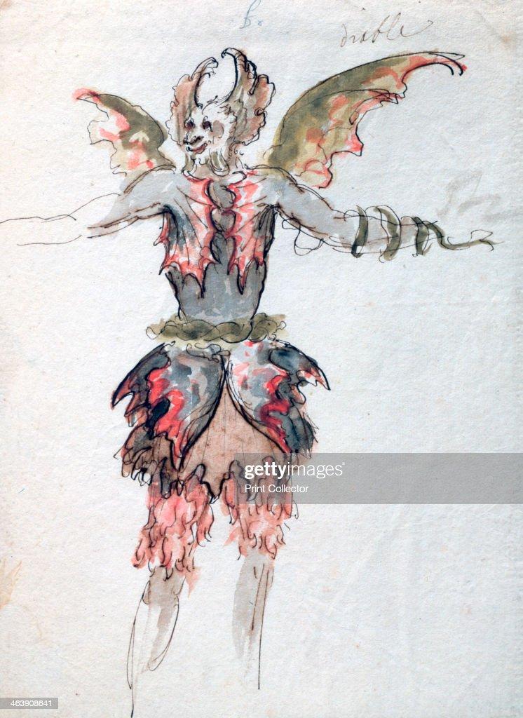 'Devil', c1680. Artist: Jean Berain : News Photo