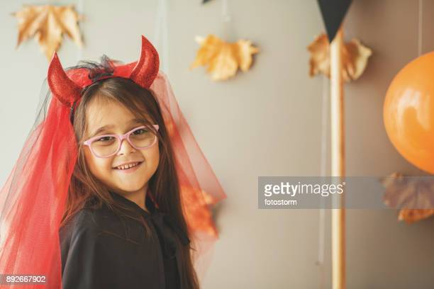 devil costume - devil costume stock photos and pictures