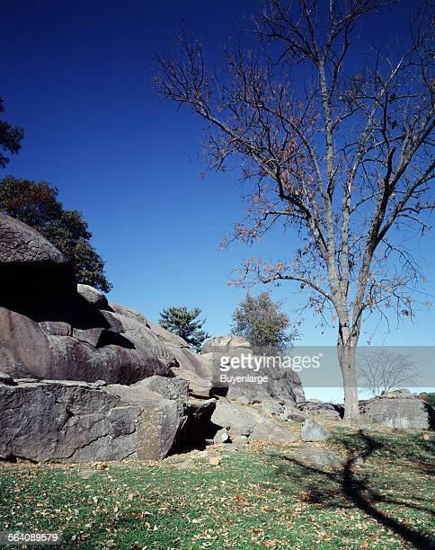 Devil Den Gettysburg National Military Park Gettysburg Pennsylavnia