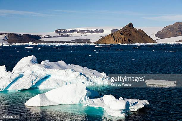 devil island, antarctic sound, weddell sea, southern ocean, antarctica - antarctic sound fotografías e imágenes de stock