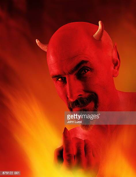 devil (digital composite) - devil stock pictures, royalty-free photos & images