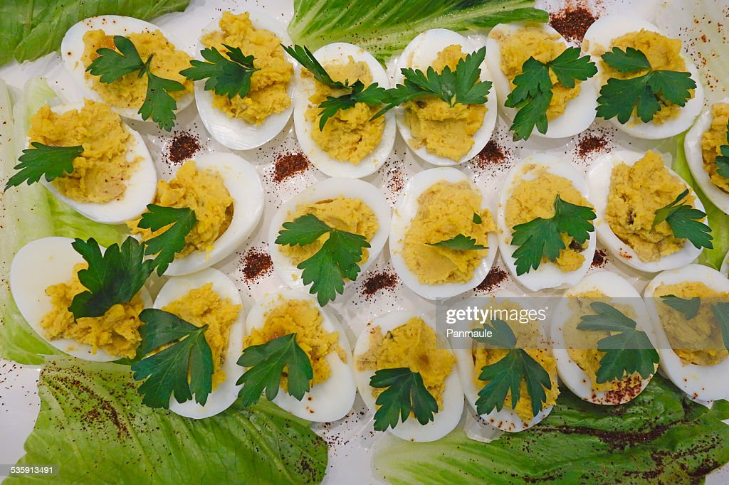 Deviled Eggs : Stock Photo