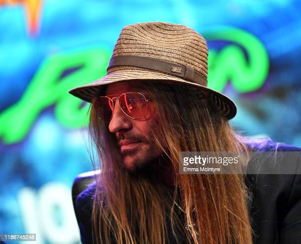 CC DeVille of Poison speaks during the press conference for THE STADIUM TOUR DEF LEPPARD MOTLEY CRUE POISON at SiriusXM Studios on December 04 2019...