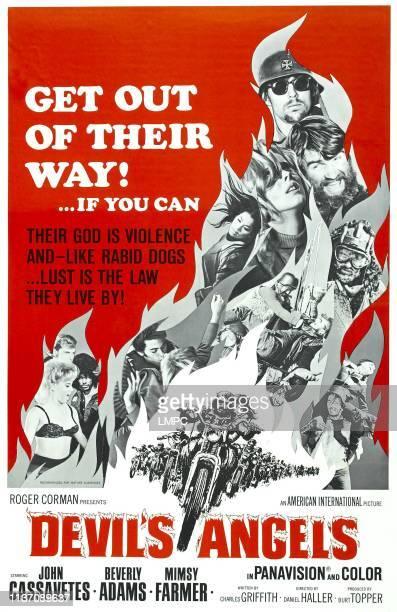 Devil's Angels poster Beverly Adams Mimsy Farmer 1967