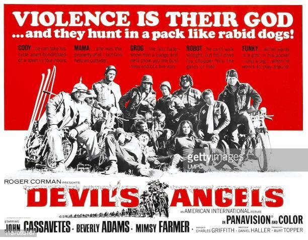 Devil's Angels poster Leo Gordon John Cassavetes Beverly Adams Mimsy Farmer 1967