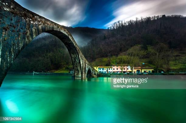 devils bridge - devil stock pictures, royalty-free photos & images