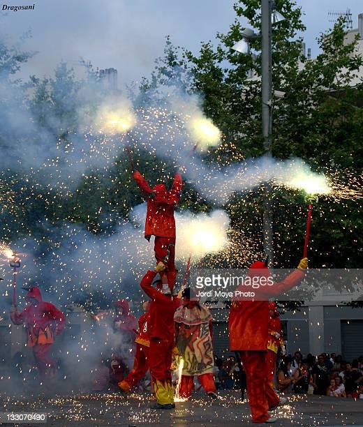 Devils dance in festivals
