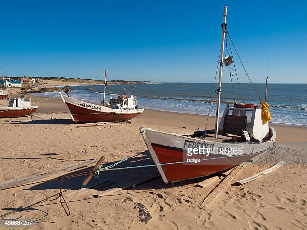 devil's point in uruguay - uruguay stock pictures, royalty-free photos & images