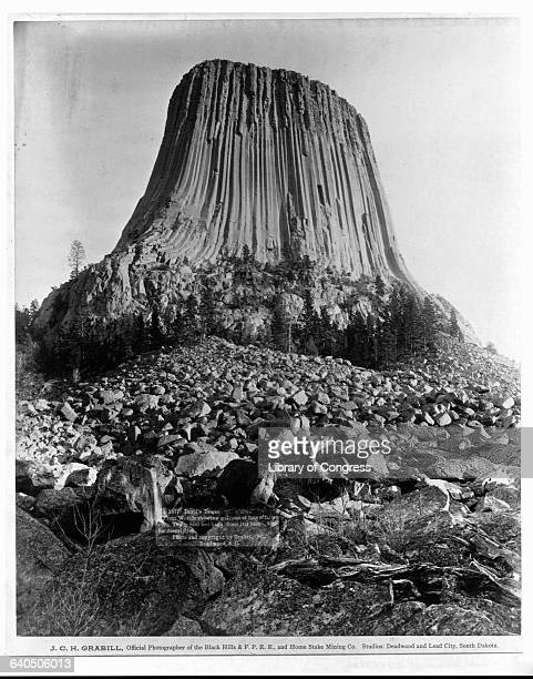 Devil's Tower Wyoming 1890