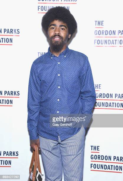 Devin Allen attends the 2017 Gordon Parks Foundation Awards gala at Cipriani 42nd Street on June 6 2017 in New York City