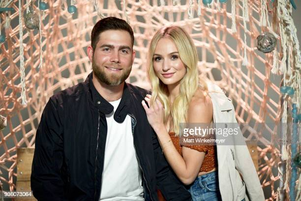Devin Antin and Lauren Bushnell attend the POPSUGAR x Freeform Mermaid Museum VIP Night at Goya Studios on March 21 2018 in Los Angeles California