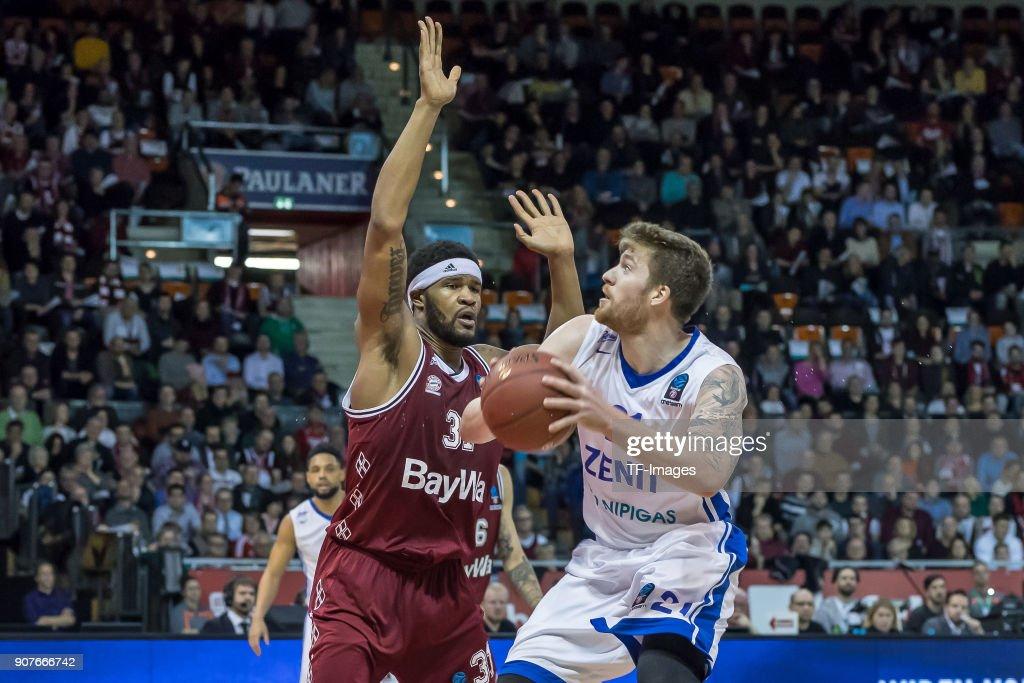 Bayern Munich v Zenit St. Petersburg - Basket EuroCup