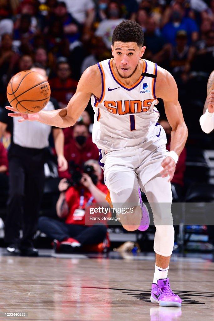 2021 NBA Playoffs - Phoenix Suns v Denver Nuggets : News Photo