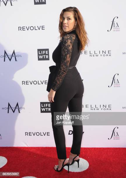 Devin Brugman arrives at the Daily Front Row's 3rd Annual Fashion Los Angeles Awards at the Sunset Tower Hotel on April 2 2017 in West Hollywood...